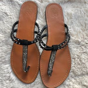 Vince Camuto Sandals Studded Glitter